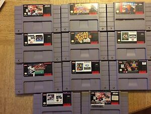 SNES and PlayStation games
