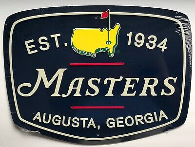 Masters golf pub sign undated style bar display new augusta national 2019 - Golf Pub Sign