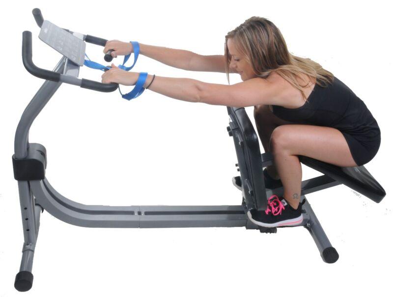 Nitrofit Limber Pro Adjustable Stretch Machine w/ Media shelf