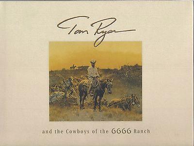 TOM RYAN  2001  SIGNED!!  MINT!!  44 COLOR PLATES  RARE!  COWBOY ARTISTS AMERICA
