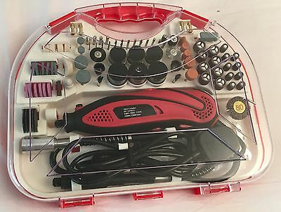 210pcs Electric 135W Rotary Mini Drill tool Grinder Set Hobby Craft Model