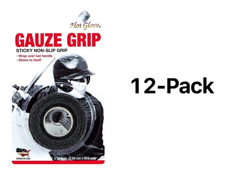 Unique Sports Gauze Grip Bat Tape Athletic Baseball And  Softball 2209 (12-Pack)