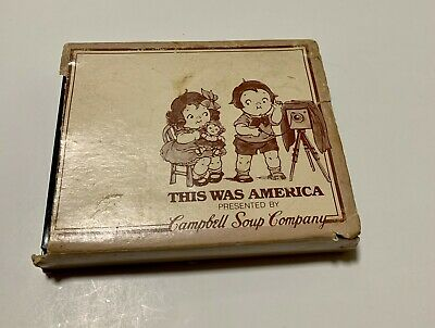 Vintage Playing Cards This Is America Campbell Soup. Featuring kids. Two decks.