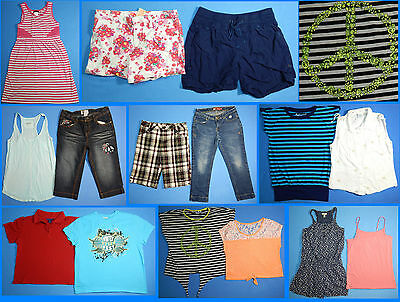 15 Piece Lot of Nice Clean Girls Size 16 Spring Summer Everyday Clothes ss45 - Nice Girls Clothes