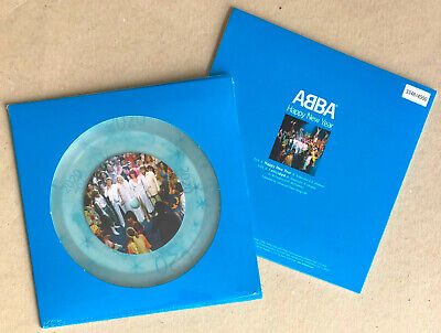ABBA * HAPPY NEW YEAR * LIMITED EDITION NUMBERED CLEAR 7