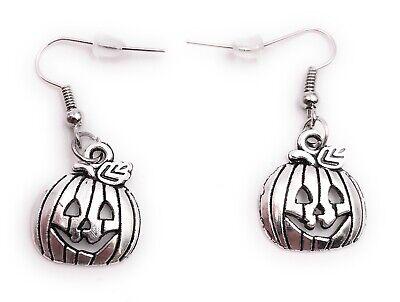 Ohrringe Paar Kürbis Halloween Schädel Volksbrauch Ohrring aus Metall Ohrschmuc - Halloween Paar