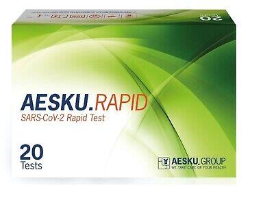 20x Corona Schnelltest Antigen-Test Covid 19 BfArM zugelassen RAPID SARS-CoV-2