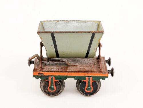 Vintage Marklin Dump Car Freight Train 1 Ga Tinplate
