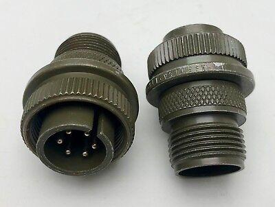 X2 Amphenol Ms-3106a 14s 6p Ms3106a Circular Pin Connector Free Shipping