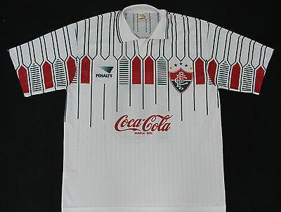 1992-1993 FLUMINENSE AWAY UMBRO FOOTBALL SHIRT (SIZE L) image