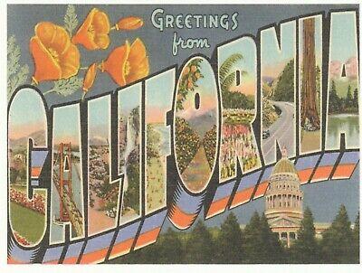 Kalifornien Post (* Kalifornien Postkarte