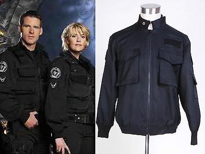 Stargate SG1 Black Uniform Jacket Costume Halloween Daily Cosplay Show - Stargate Halloween Costumes