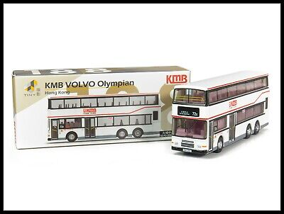 TINY 188 KMB VOLVO Olympian Bus ( 72x ) Diecast Car New HONG KONG CITY 1/110 ()