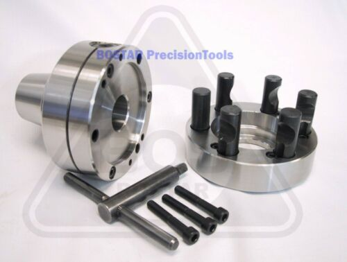 BOSTAR  5C Collet Lathe Chuck With Semi-finished D1-5 Back Plate