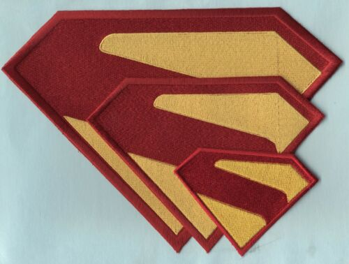 Superman Kingdom Come/Crisis on  Infinite Earths Chest Logo - choice of sizes