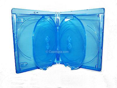 NEW! 1 VIVA ELITE 4-disc Blu-ray Multi Replacement Case Quad - Holds 4 Discs