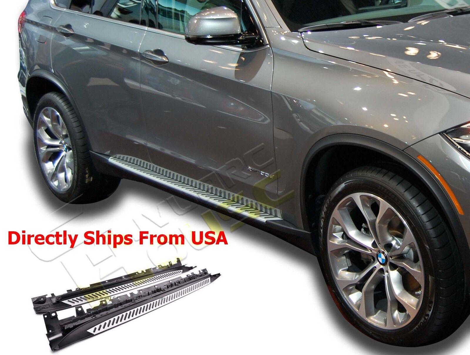 VANGUARD 07-13 BMW X5 E70 SIDE STEP OE FACTORY STYLE ALUMINUM RUNNING BOARD