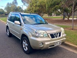 2002 NISSAN XTRAIL Ti AUTOMATIC LEATHER SUNROOF