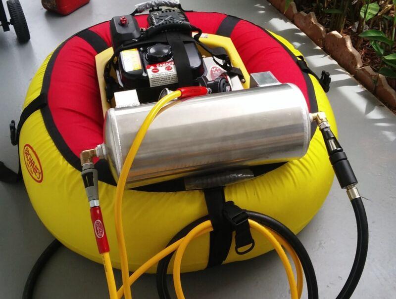 Accumulator Tank Kit for Brownies Third Lung Hookah. Dive safe! It