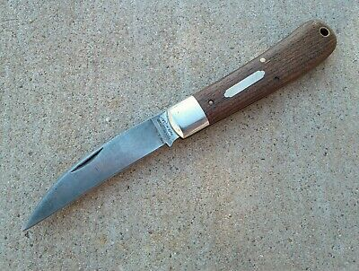 GEC Great Eastern Cutlery Tidioute Viper folding knife 470114 Wood scales - used