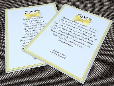 Will You Be My Bridesmaid Card Gray And Yellow Wedding Card Wedding Invitation - Gray And Yellow Wedding