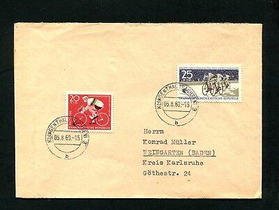 DDR NR 779 780 AUF BRIEF 1960 X 1
