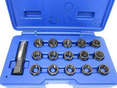 16pc Spark Plug Thread Repair Kit M14 x 1.25 HSS Tap Vorlux by Bergen 5841