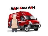 24/7 Man & luton Van delivery & collection house removals rubbish clearance dumping shifting &movers