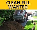 WANTED Clean Fill - Are you looking for a place to discard?
