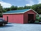 Heated workshop 2 large garage doors 12 ft ceilings