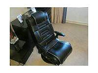 X Rocker gaming chair with sound and vibration