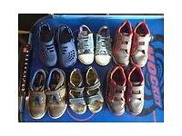 bundle boys clarks timberland next shoes 6 pairs vgc