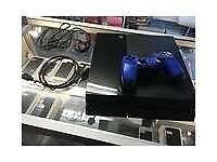 Sony Playstation 4 - 500GB With 1 Wireless Controller & Wires (Grade B, Boxed)