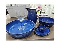 Large casserole dish Denby Imperial Blue