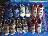 boys clarks shoes trainers bundle vgc