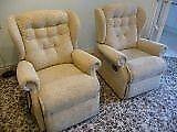 Dual Motor Recliner plus manual recliner & 2 seater sofa recliner