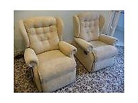 Dual Motor Recliner plus manual recliner & 2 seater sofa recliner