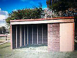 Large field shelter 20ft x 10ft & 10ft x 10ft.