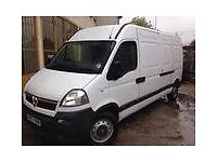 man and van available on short notice