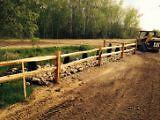 Rustic Cedar Fence Rail