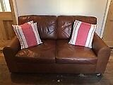 3 leather sofas for sale. £300 each.