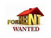 3/4 FAMILY HOME WANTED FOR RENT