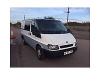 LEFT HAND DRIVE FORD TRANSIT VAN, DRIVES WELL,GOOD LOAD SPACE,ENGINE & MECHANICS,PAPERS SORTED.CALL