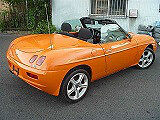 1997 Fiat Barchetta Convertible wasn't sold in North America