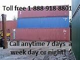 SHIPPING CONTAINERS FOR CHATHAM & AREA!
