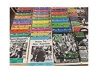 34 copies of the magazine when Saturday comes