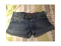 Ladies size 14 denim shorts (New Look) good condition from a pet and smoke free home