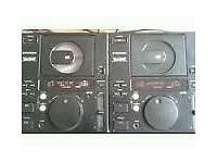 Pioneer cdj500 dj decks