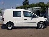 vw caddy crew c20 2013 blue motion