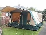 Cabanon Frame Tents x 2 complete with loads of camping equipment